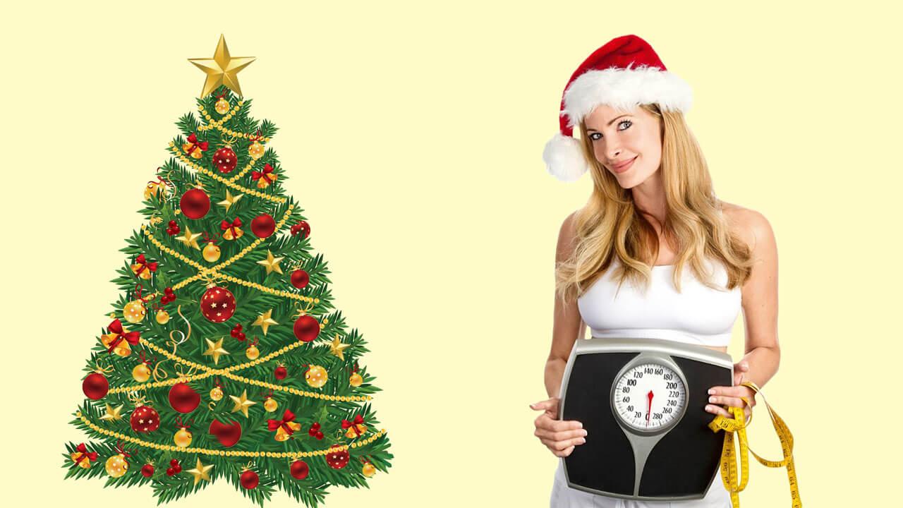 Как похудеть во время новогодних праздников: фото.