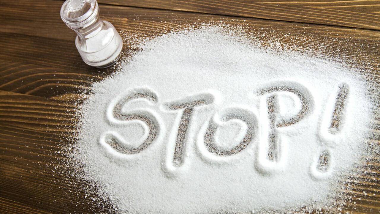 Снижение потребления соли.