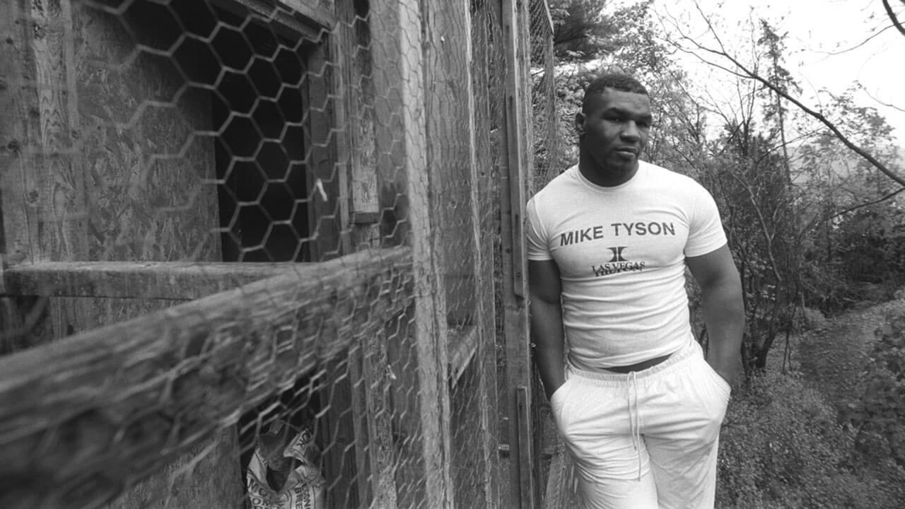Майк Тайсон в молодости.