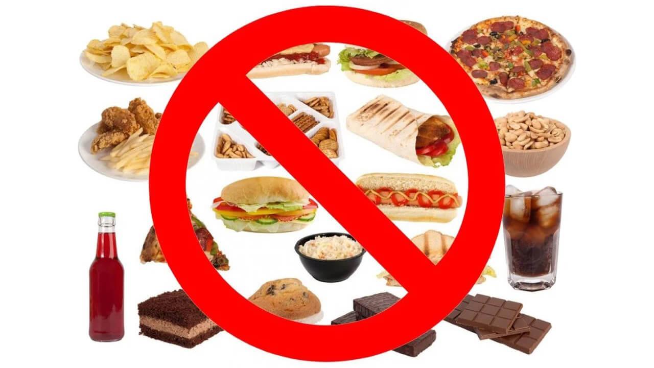 Убрать пищевой мусор.