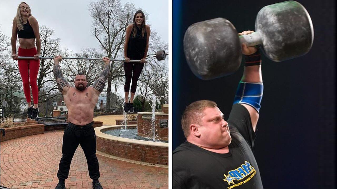 Самые сильные атлеты мира: фото.