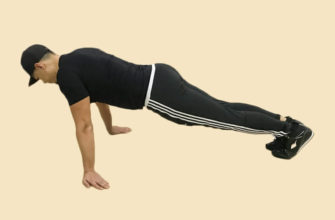 Упражнения на бицепс дома без гантелей: фото.
