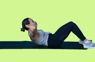 Как укрепить мышцы брюшного пресса: фото.