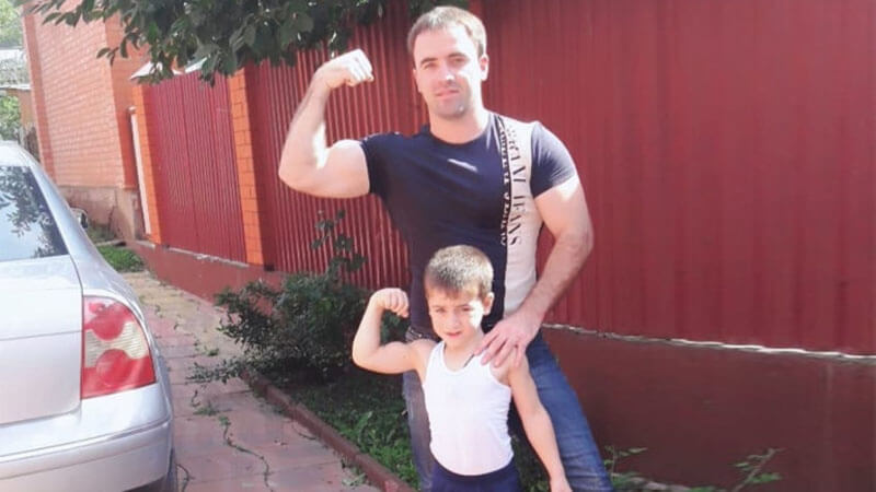 Рахим и Залим Куриевы.