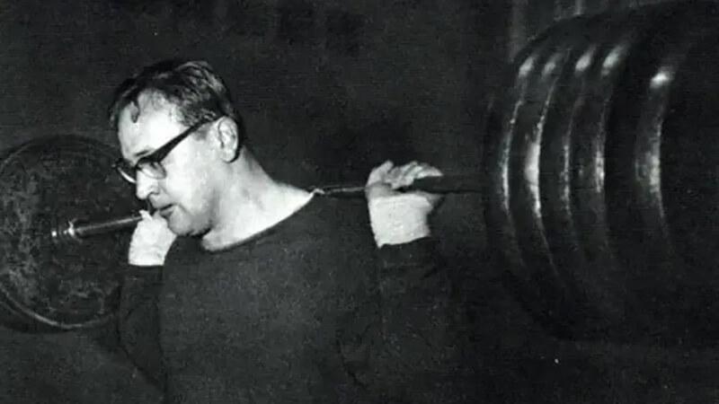 Штангист Юрий Власов.