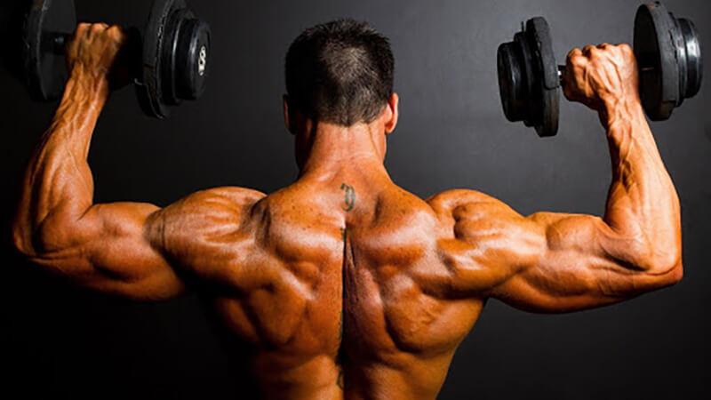 Тренировка на верх спины.