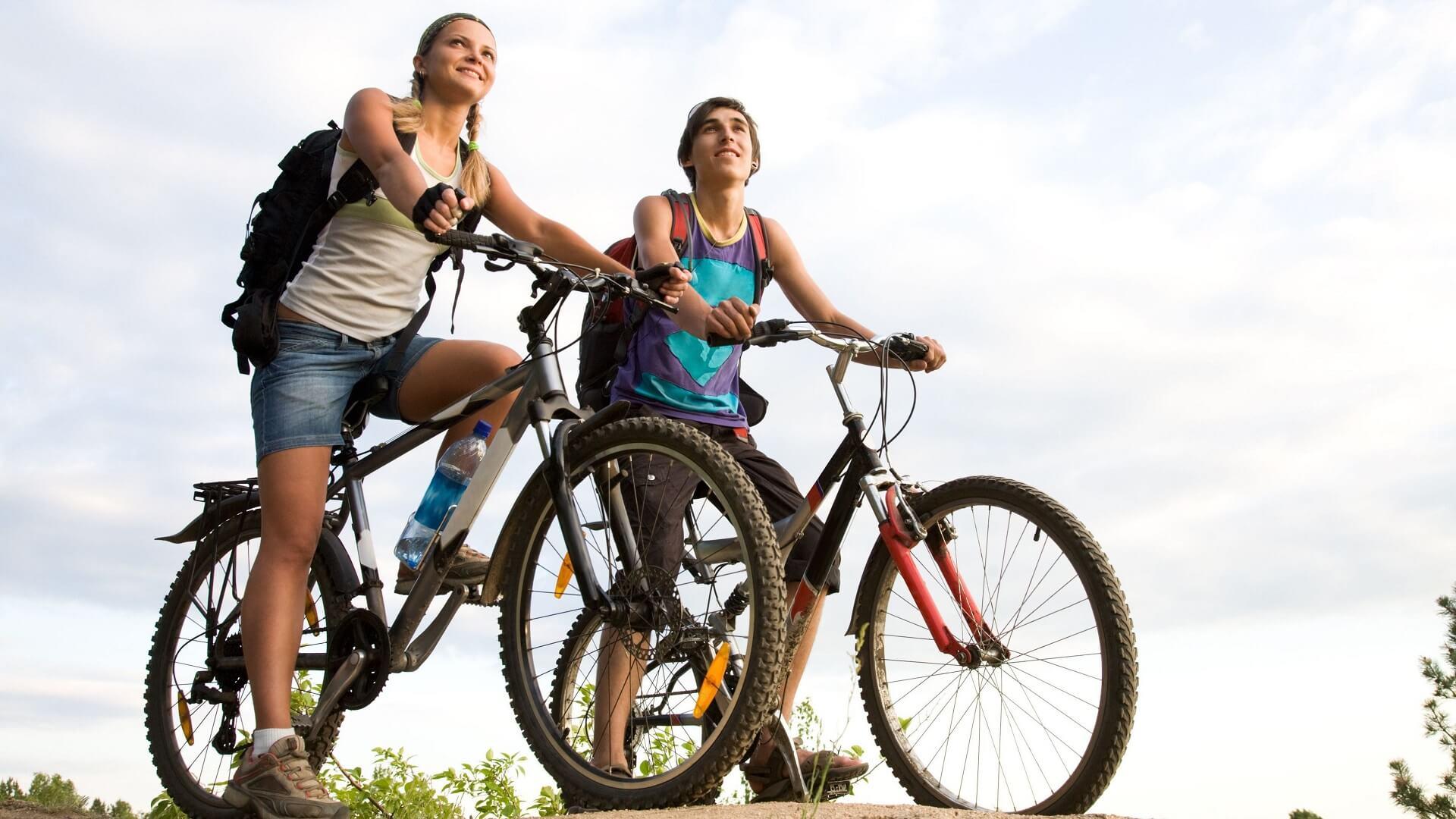Какие мышцы тренирует велосипед: фото.