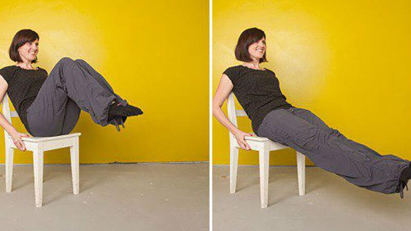 Складка: фото упражнения.