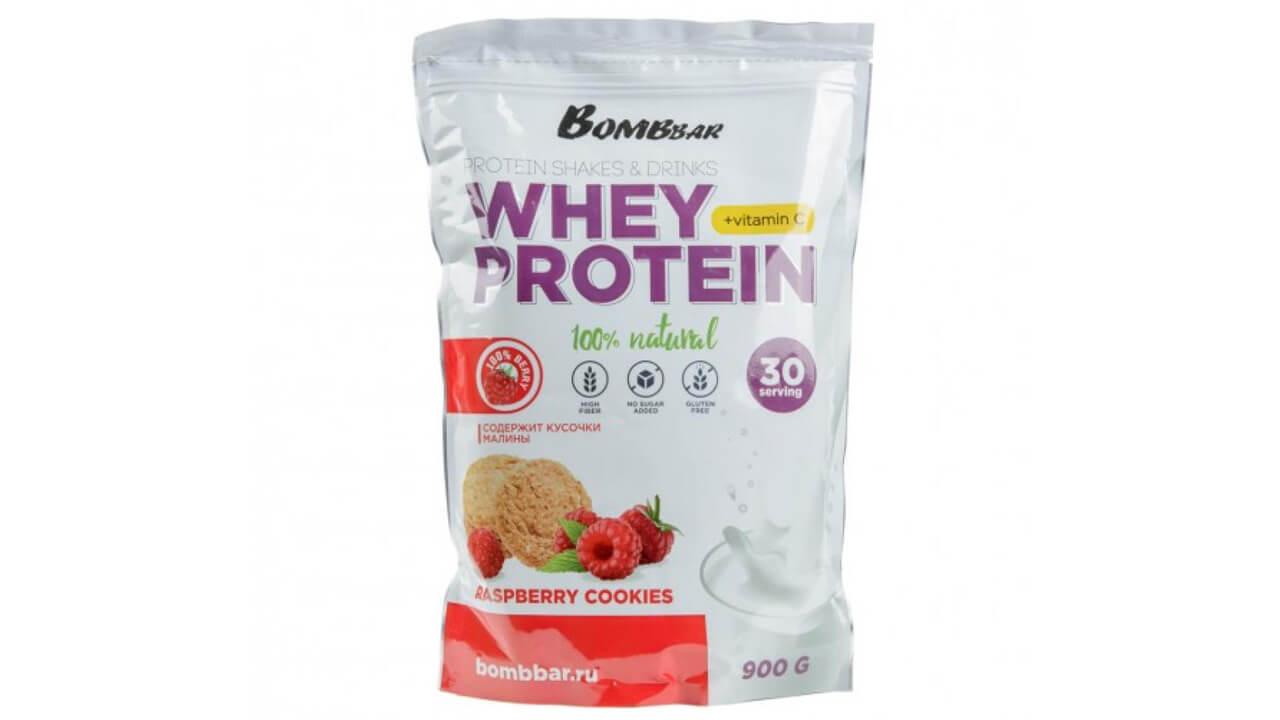 Bombbar Whey Protein.