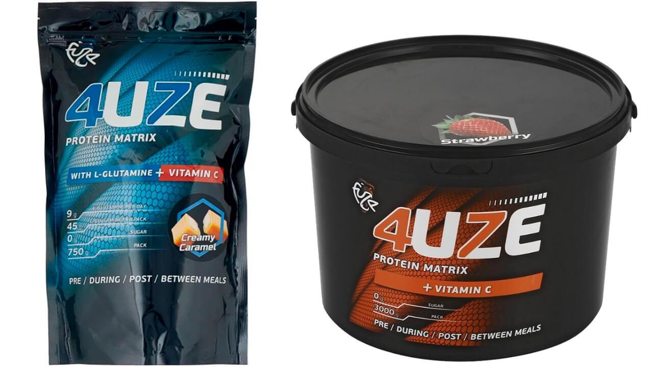 Fuze Protein Matrix + Vitamin C.