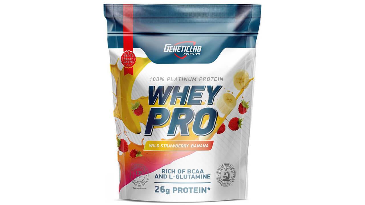 Geneticlab Nutrition Whey Pro.