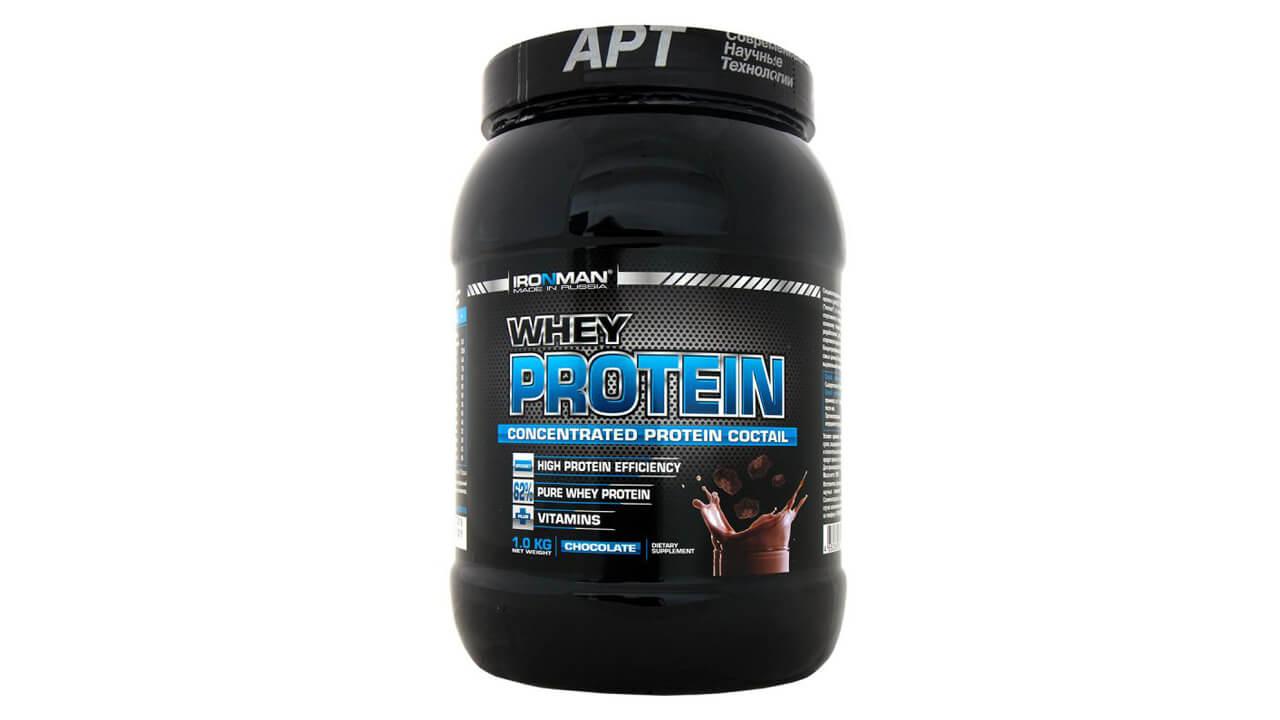 Ironman Whey Protein.