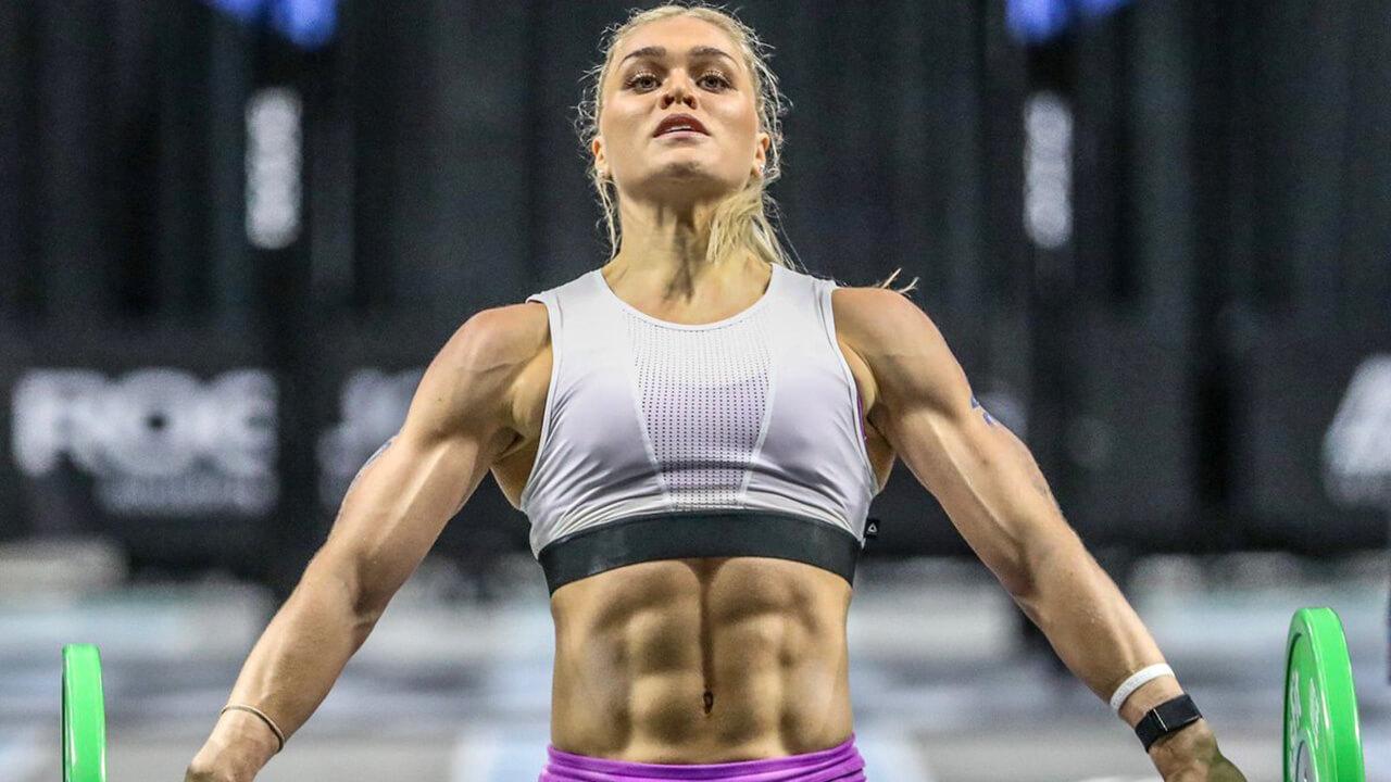 Катрин Таня Давидсдоттир: фото кроссфит женщины.