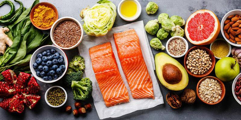 Правильное питание: фото продуктов.