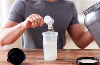 Протеиновый коктейль: фото.