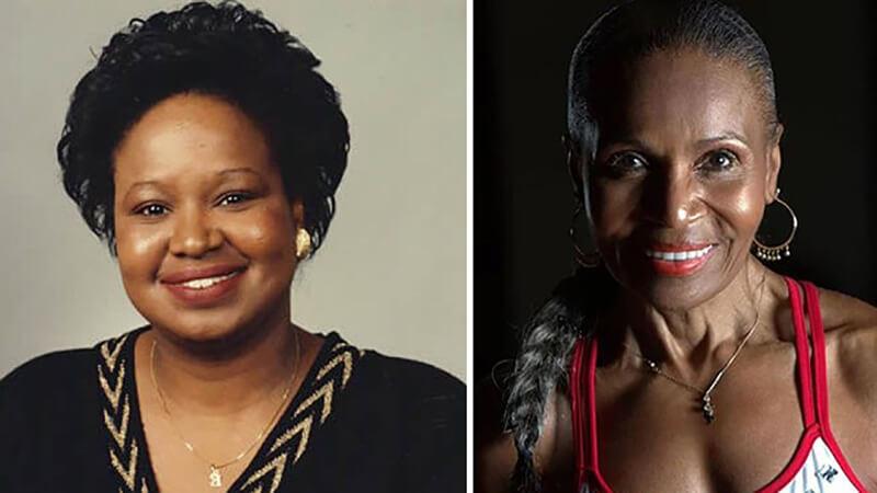 Эрнестина Шепард: фото до и после.