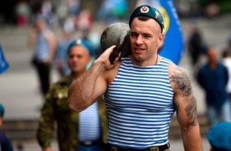 Тренировка ВДВ России: фото.