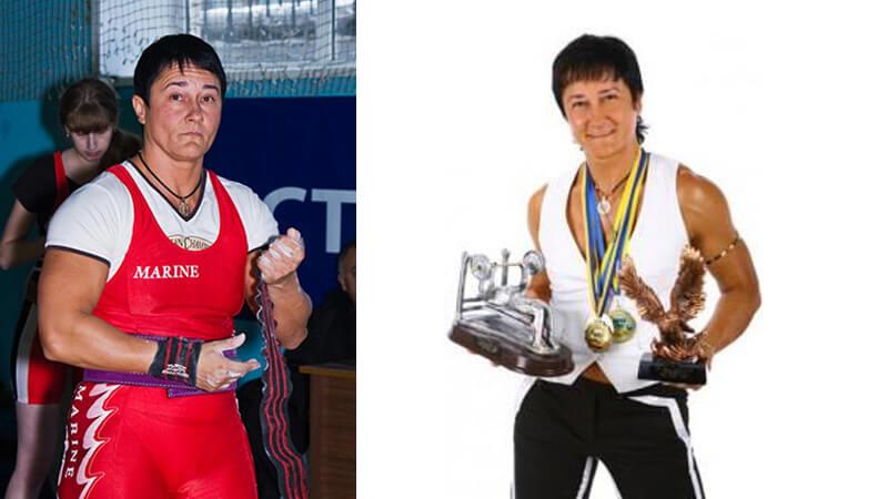 Анна Куркурина до и после.