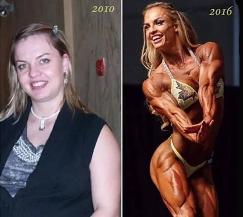 Элеонора Добрынина: до и после.