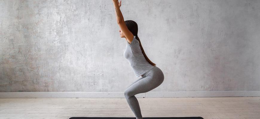 Статические упражнения для ног.