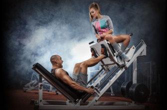 Упражнения для силы ног: фото.