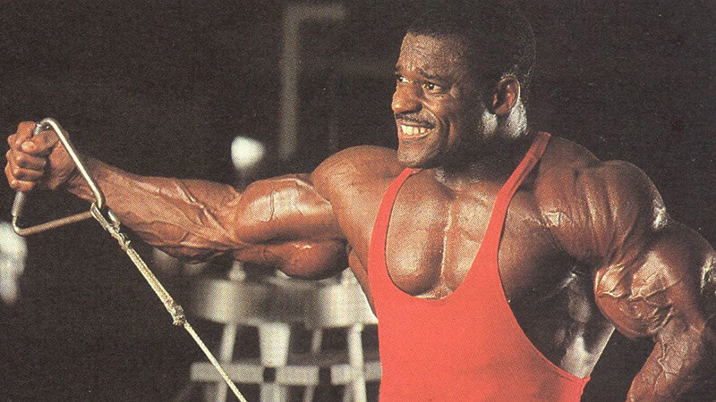 Vince Taylor: тренировка.